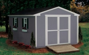 10x12 garden shed with ramp