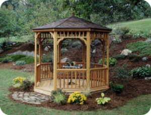 types of gazebos
