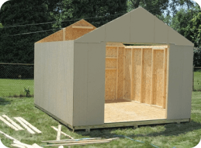 building permit for a shed