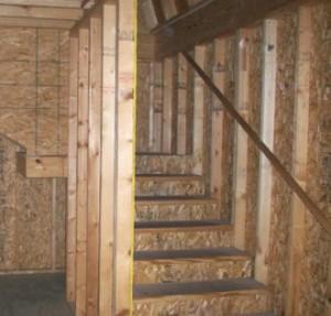 2nd story in garage bldg