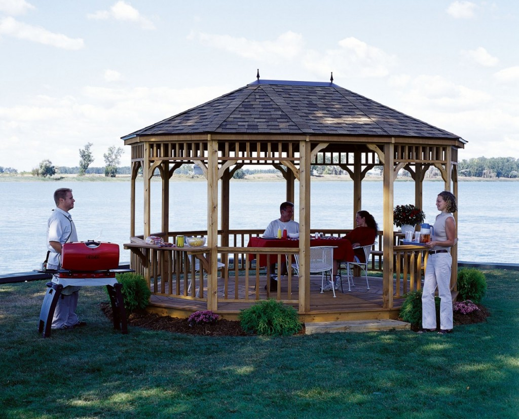 maintaining a gazebo