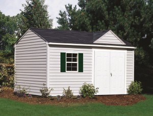 low maintenance shed