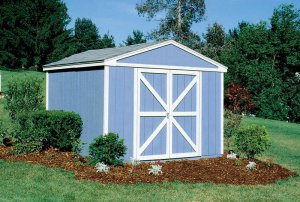 10x8 Arlington model shed