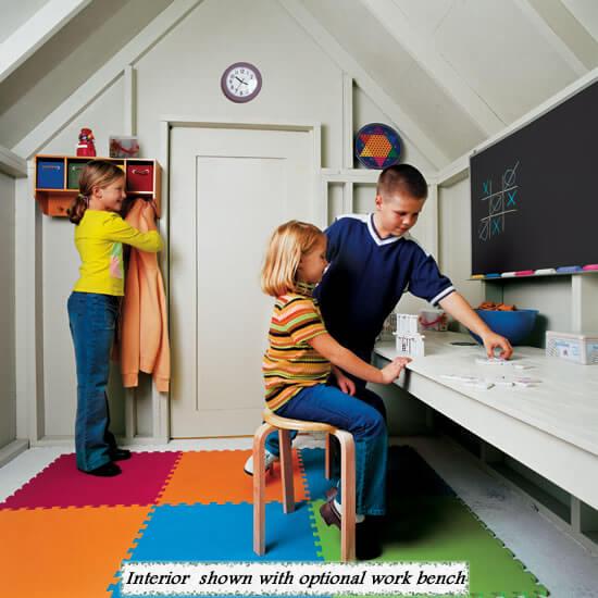 backyard playhouse for kids