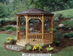 Gazebos In Backyards