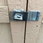 swivel hasp lock