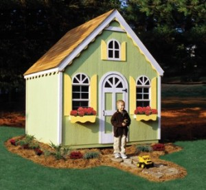 wood playhouse