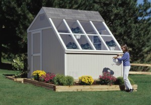 greenhouse sheds for solar gardening