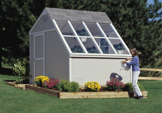solar sheds for backyards & Solar Sheds are the Future of Food Storage and Gardening