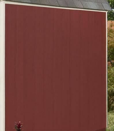 LP smartside siding for wood sheds