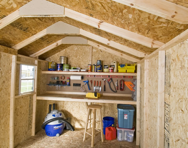 Tack Room Style Roofs Have Many Advantages For Backyard Lifestyles
