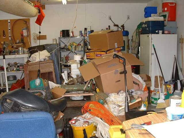 clean out garage