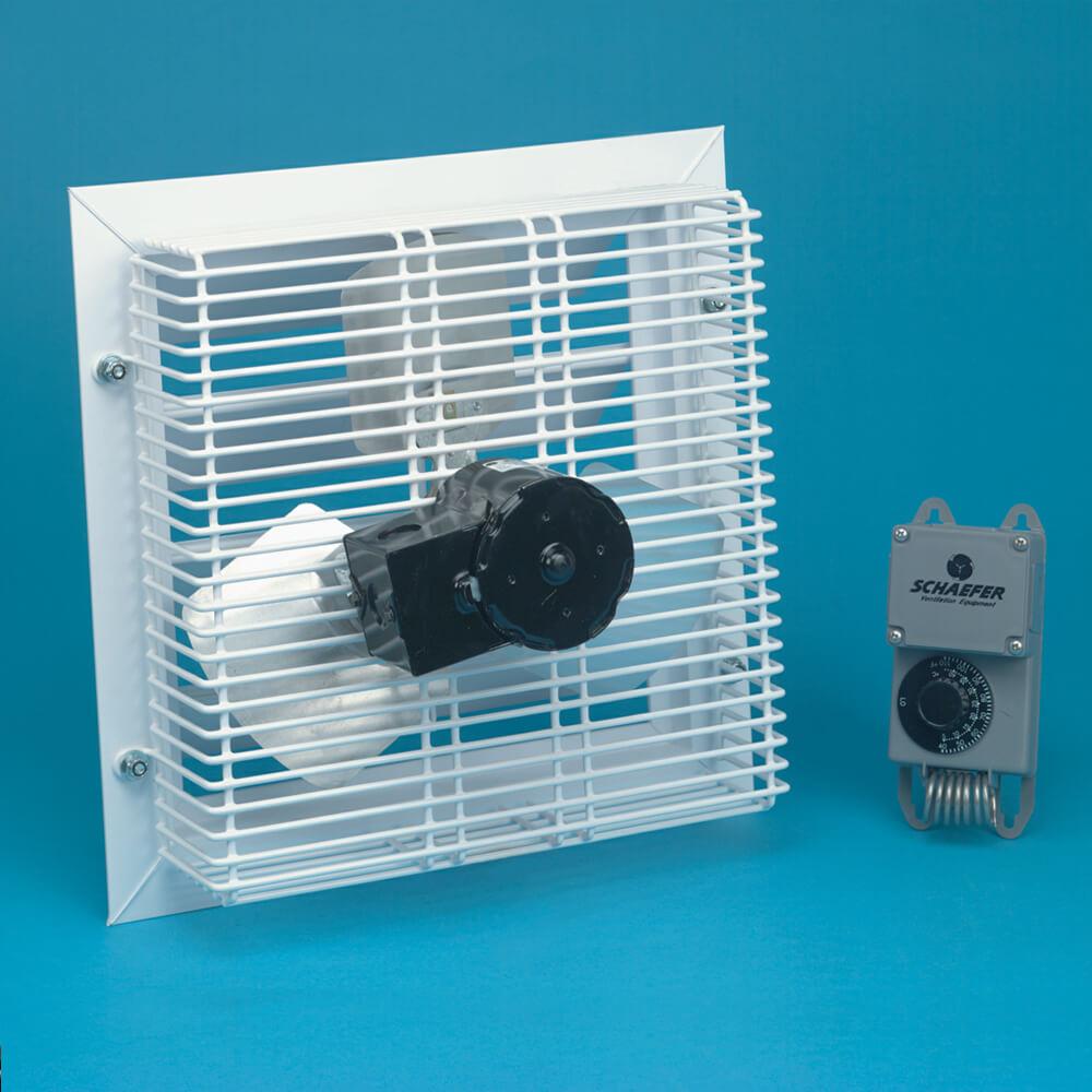 solar power ventilation fan