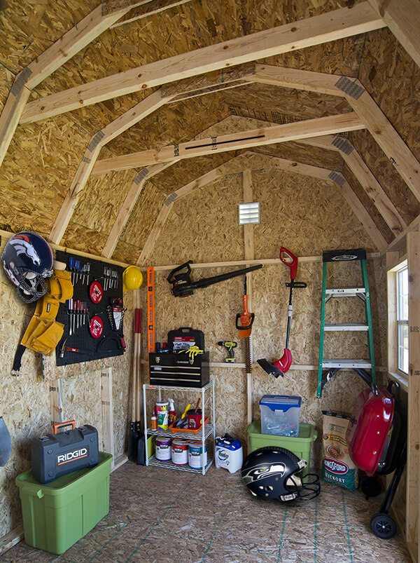 How to turn your shed into a man cave for super bowl sunday for Man cave storage