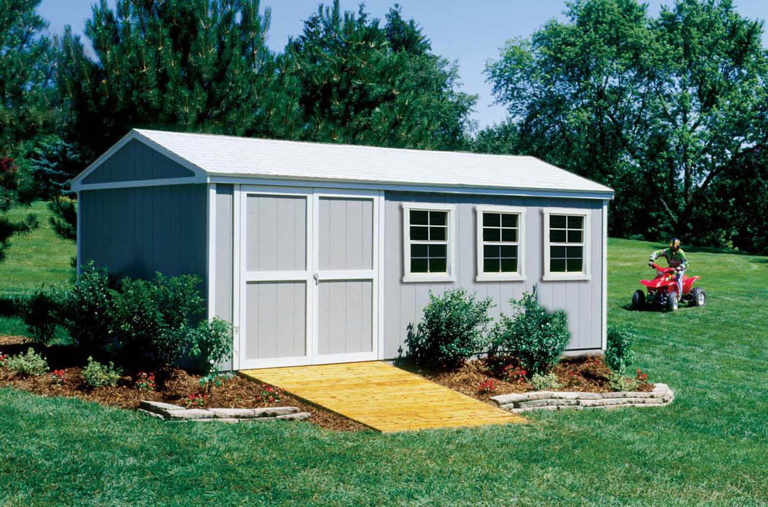 Reasons why sheds are great storage solutions for racing for Atv shed plans