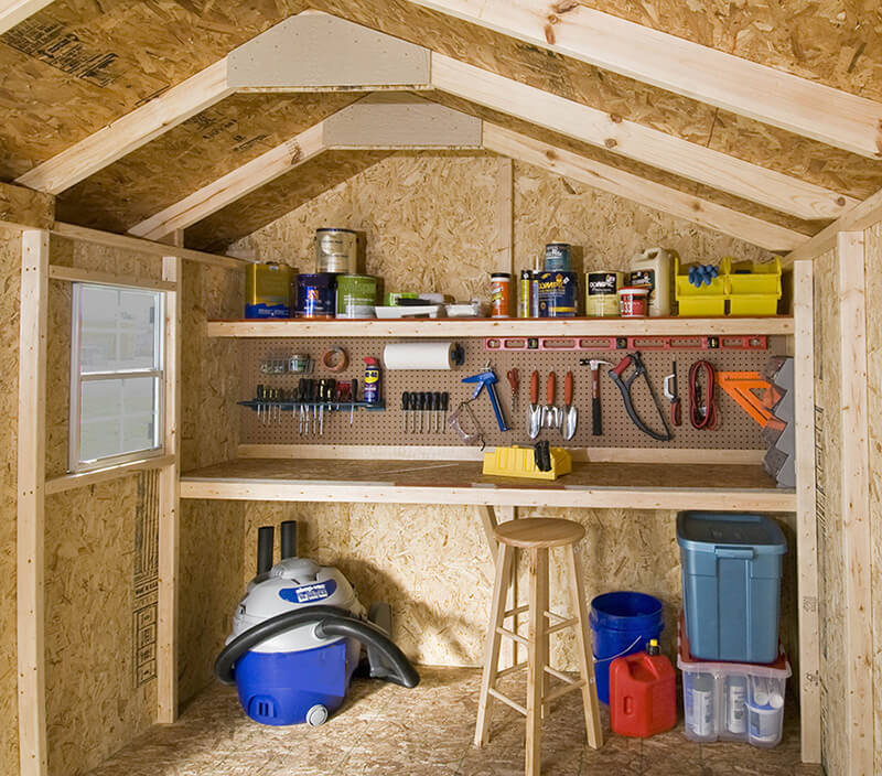 Turn your Shed into a Guard Shack