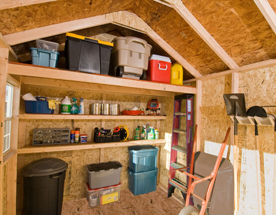 Dos Donts Shed Organization on 16x20 Shed With Garage Door