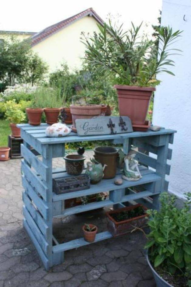 Creative Potting Shed Tables for the Do-it-Yourself-er