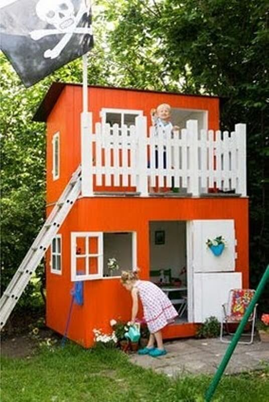Ideas to turn your shed into an entertainment destination for Kids outdoor playhouse