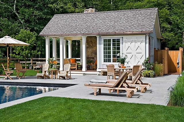 Ideas to turn your shed into an entertainment destination for Shed into pool house