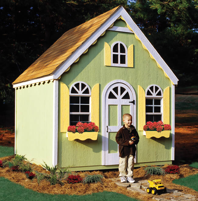 Ideas to turn your shed into an entertainment destination for Shed playhouses