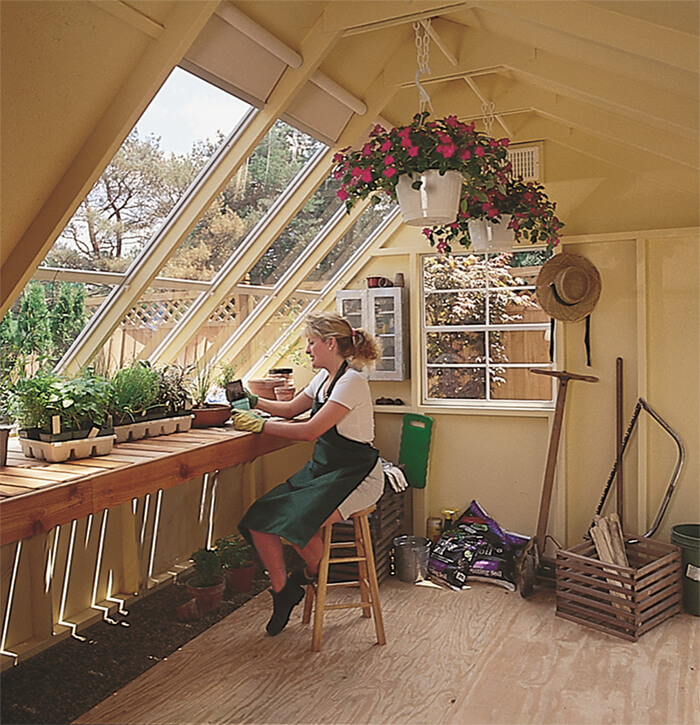 10 Ways To Turn Your Shed Into The Perfect Workshop