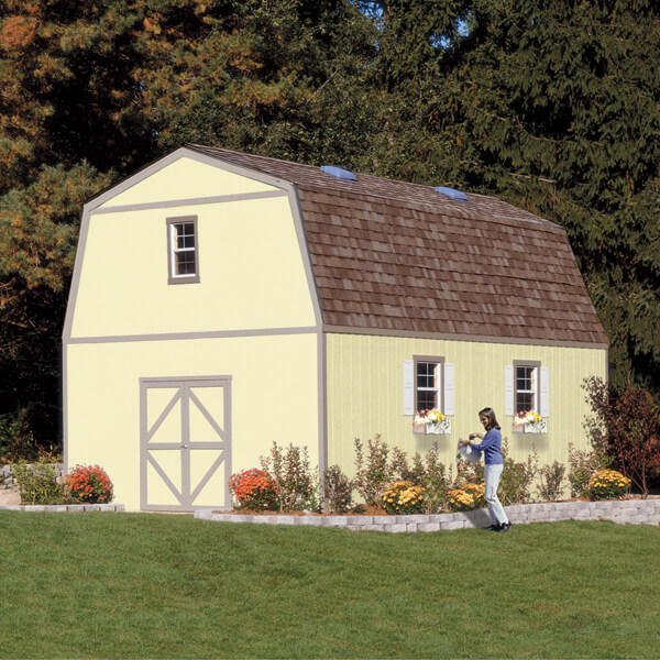 Charming Big Shed Guest Room Installed