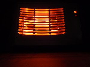 space heater for shed