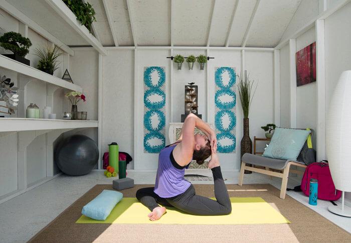 yoga she shed