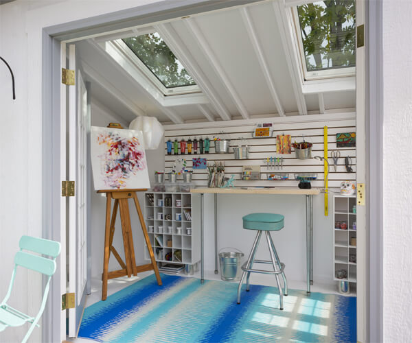 metropolitan shed by heartland industries converted as an artist s