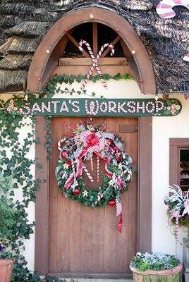 workshop shed christmas