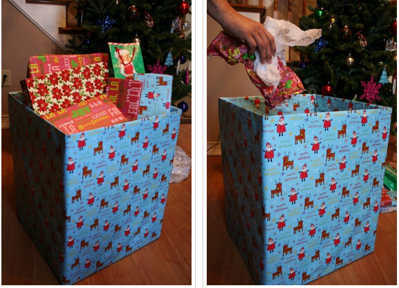 christmas storage boxes for presents