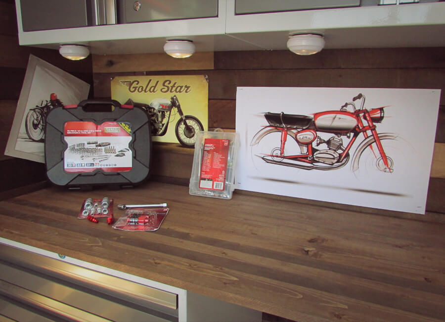 cafe racer storage cabinets