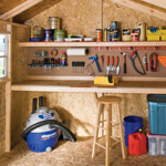 shelf workbench storage
