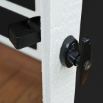 Heavy-duty locking t-handle provides maximum security of the items inside.