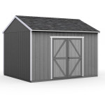 Features flexible door location; place does on the eave or gable side. Eave doors are shown.