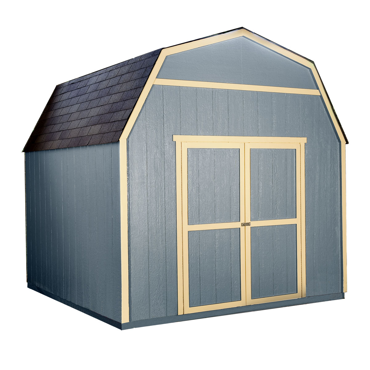 shed with loft for yard and garden storage 10x10 verona