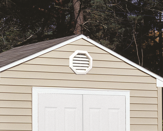 Vinyl Sided Gable Shed 10x16 Sentry
