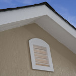 Deluxe vents let fresh air in, reduce heat and condensation.