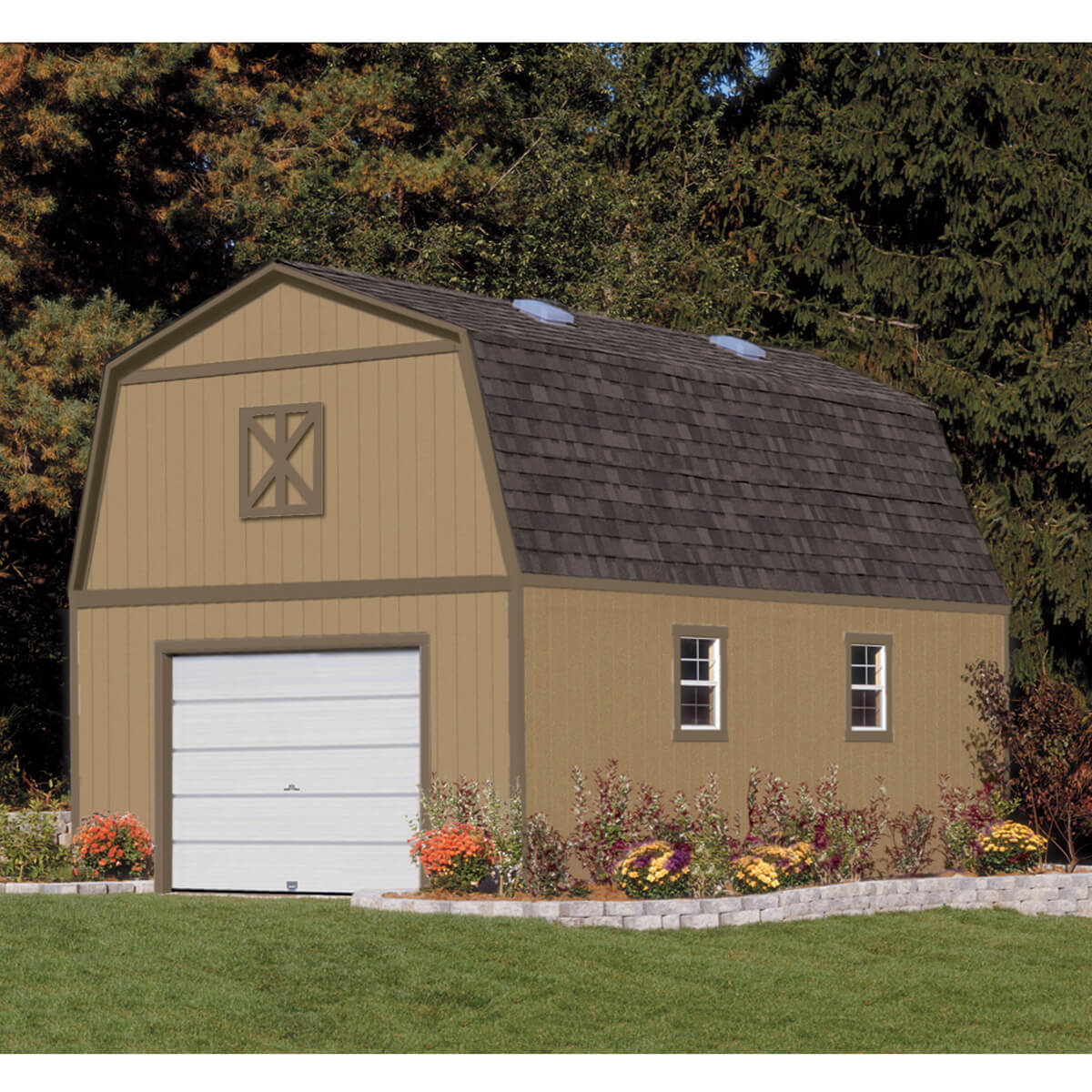 Two Story Shed With Stairs For Storage Or Workshop Everest