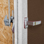 Premium 3-point locking system provides maximum security for years of continuous use.