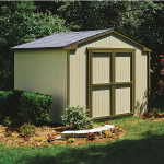 This shed is well equipped for traditional tool storage, but it can be transformed to anything you dream up.