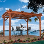 This classic wooden Pergola design combines stunning architecture with long-lasting build, all while giving you an ideal combination of sunlight and shade.