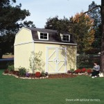 Transform your yard with the Hartford shed; giving yourself a pool-side bungalow, a customized home office or backyard study.