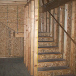 Included stairs gives the Everest customization potential as a guest house, workshop or man cave/she shed.