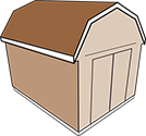 gambrel roof icon