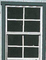 Large Square Window - Solar Sheds