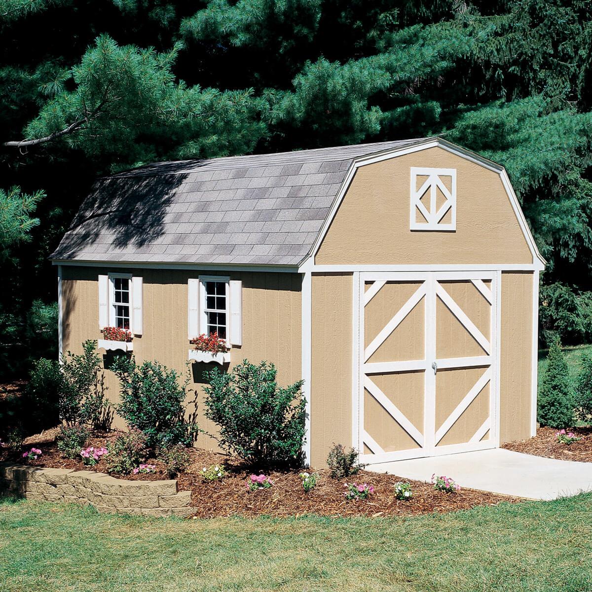 Sheds For Yard Storage Or Backyard Workshop