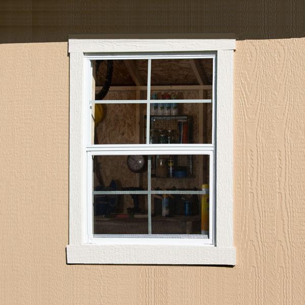 Small Square Window Backyard
