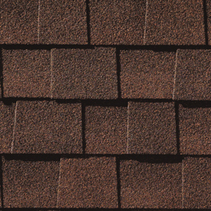 Dark Brown Architectural Shingle Upgrade Backyard